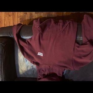 Men's brixton maroon hoodie